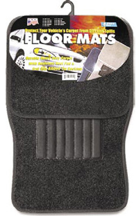 1991-1993 GMC Sonoma Matrix Floormats - Universal Carpet (4 Piece) (Black)