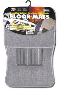 1991-1993 GMC Sonoma Matrix Floormats - Universal Carpet (4 Piece) (Grey)