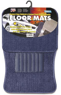 1991-1993 GMC Sonoma Matrix Floormats - Universal Carpet (4 Piece) (Blue)