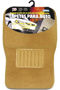 1991-1993 GMC Sonoma Matrix Floormats - Universal Carpet (4 Piece) (Tan)