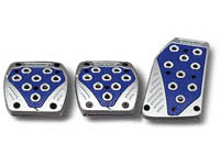 2009-9999 Dodge Ram Matrix Universal Pedals - Import (Silver/Blue)