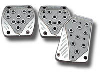 2009-9999 Dodge Ram Matrix Universal Pedals - Import (Silver/Grey)