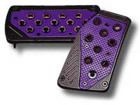2008-9999 Subaru Impreza Matrix Universal Pedals - Import (Black/Purple)