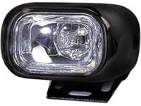 1998-2000 Volvo S70 Matrix Foglights - Small Rectangular (Clear)