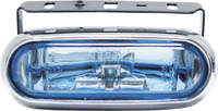 1999-2002 Daewoo Lanos Matrix Foglights - Rectangular Chrome III (Clear)