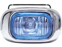 1998-2000 Volvo S70 Matrix Foglights - Rectangular Chrome (Super White)