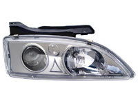 95-99 Chevrolet Cavalier Matrix Headlights - Projections (Black/Clear)
