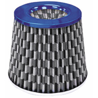1980-1987 Audi 4000 Matrix Air Filters - 4-1/2 Inch Checkered (Blue)