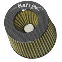 1986-1995 Mercedes E-Class Matrix Air Filters - Carbon Fiber Top (Yellow)