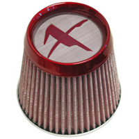 1980-1987 Audi 4000 Matrix Air Filters - X-Screen (Red)