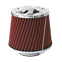 1980-1987 Audi 4000 Matrix Air Filters - Tornado II (Chrome)