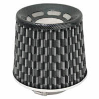 1980-1987 Audi 4000 Matrix Air Filters - Phase-II Checkered (Carbon Fiber)