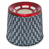 1980-1987 Audi 4000 Matrix Air Filters - Phase-II Checkered (Red)