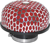1980-1987 Audi 4000 Matrix Air Filters - Octagon Mushroom (Red)