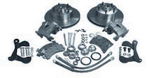 "1967-1969 Chevrolet Camaro McGaughys 13"" Disc Lifting Suspension Kit With 2"" Spindles - Front - 5 X 4.75"" (Cross Drilled, Use Stock Steering Arms.)"