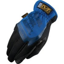 1987-1990 Honda_Powersports CBR_600_F Mechanix Wear Fast-Fit® Gloves, Blue, Medium