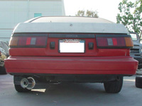 84-87 Corolla Ae86 Megan Racing Drift Spec Exhaust - Pipe Size: 2.38