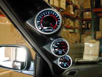 1994-1996 Chrysler New_Yorker Megan Racing Meter Gauge - Turbo Boost Gauge 30psi