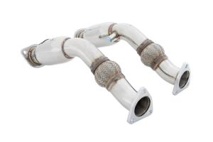 FOR 09-15 Nissan 370Z for Infiniti STAINLESS RACING X//Y-PIPE//DOWNPIPE EXHAUST