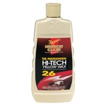 1967-1969 Chevrolet Camaro Meguiars Hi-Tech Yellow Wax Liquid - 16 oz.
