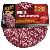 1962-1962 Dodge Dart Meguiars Solo One Liquid System Wool Heavy Cutting Pad