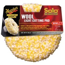 1992-1997 Isuzu Trooper Meguiars Solo One Liquid System Wool Light Cutting Pad