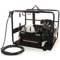 Universal (All Vehicles) Mi-T-M Kubota Diesel Cold Water Pressure Washer, 6100 PSI @ 6.3 GPM