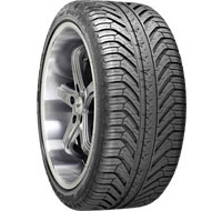 1998-2005 Mercedes M-class Michelin Pilot Sport A/S Plus Run Flat 245/40R18 93Y RF COR