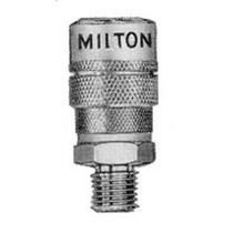 "1979-1983 Datsun 280ZX Milton Industries 3/8"" NPT Male M-Style Coupler"