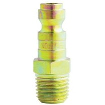 "2008-9999 BMW 1_Series Milton Industries 1/4"" NPT Male T-Style Plug - 2 Pack"