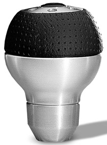 2008-9999 Jeep Liberty MOMO Race Shift Knob (Aluminum, Leather)