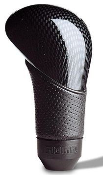 2008-9999 Jeep Liberty MOMO Shadow Shift Knob (Carbon Look / Leather)