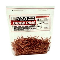 Universal (All Vehicles) Motor Guard Draw Pins - 2.0mm