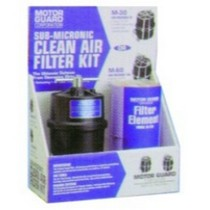 2008-9999 Pontiac G8 Motor Guard Compressed Air Filter, Sub Micronic Kit