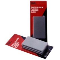 1969-1976 Porsche 914 Motor Guard Soft Block® Flexible Sanding Block - Pack of 3