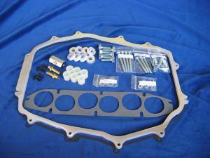 "BLOX 5//8/"" Thermo Intake Manifold Plenum Spacer Fits Nissan 03-05 350Z /& G35 VQ35"