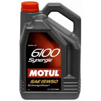 1997-2003 BMW 5_Series Motul 5L-6100 Synergie 15W50 - VW 505 00, 501 01 - MB229.1