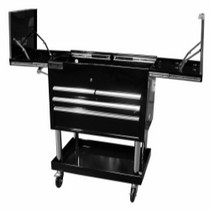 1999-2007 Ford F250 Mountain 6 Drawer Black Service Cart