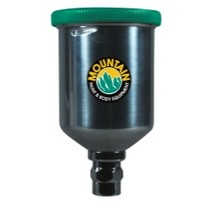 Universal (All Vehicles) Mountain 250cc Mini Gravity Feed Aluminum Cup