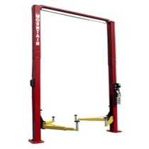 2002-2002 Lincoln Blackwood Mountain 12K 2 Post Lift installed- Red