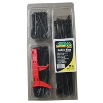 2004-9999 Toyota Solara Mountain Cable Tie Specialty Pack With Tension Tool - Black