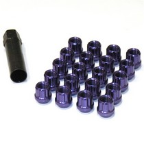 1995-1999 Oldsmobile Aurora Muteki Open Ended Lug Nuts 12x1.5 (Purple)