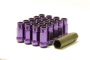 1991-1996 Saturn Sc Muteki SR48 Open End Lug Nuts 12x1.5 (Purple)