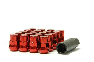 1991-1996 Saturn Sc Muteki SR35 Closed End Lug Nuts 12x1.5 (Red)