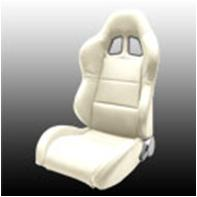 1954-1975 Jeep CJ Netami Euro Racing Seat - Sim Leather (Tan)