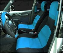 1988-1991 Honda Prelude Netami 6 Piece Neoprene Seat Cover Set - Blue