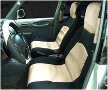1988-1991 Honda Prelude Netami 6 Piece Neoprene Seat Cover Set - Tan