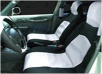 1988-1991 Honda Prelude Netami 6 Piece Neoprene Seat Cover Set - Grey