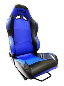 2001-2003 Honda Civic Netami Racing Seats - Renegade (Blue/Black)