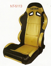 1980-1986 Ford F150 Netami Racing Seats - Renegade (Gold/Black)